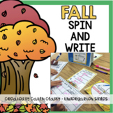 Fall Spin and Write (Sight Words)