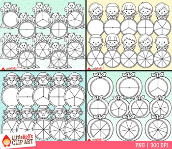 Fall Spinners Clip Art Bundle