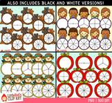 Fall Spinners Clip Art Bundle