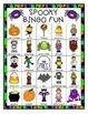 Fall Spooky Bingo Harvest Halloween Classroom Party Game &