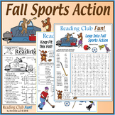 Fall Sports Action – Football, Fitness and Fun