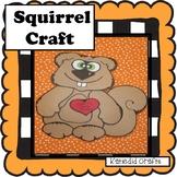 Fall Craft, Squirrel Craft!