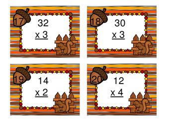 Fall Squirrel Multiplication Station