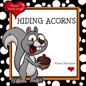 Fall Squirrels Early Reader Literacy Circle