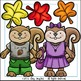 Fall Squirrels and Acorns Clip Art Set - Chirp Graphics