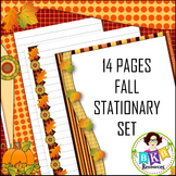 Fall Stationary - Writing Paper Set