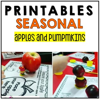 Fall Stations Printable