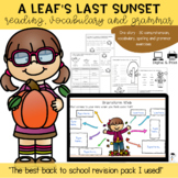 Fall Story Activity Book. Vocabulary,Comprehension, Grammar - #BTS2018