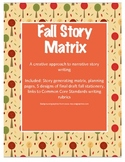 Fall Story Matrix: A creative approach to narrative writing