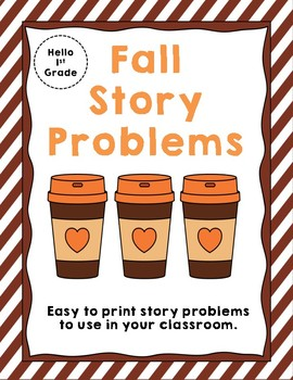 Fall Story Problems