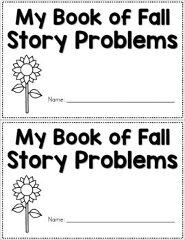 Fall Story Problems - Addition and Subtraction