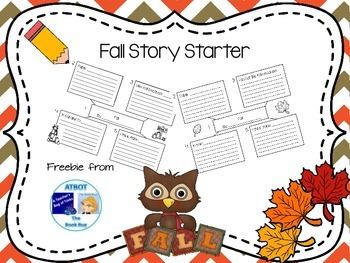 Fall Story Starter Freebie