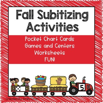 Fall Subitizing Fun