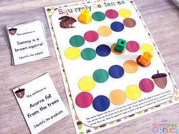 Subjects and Predicates Games and Centers