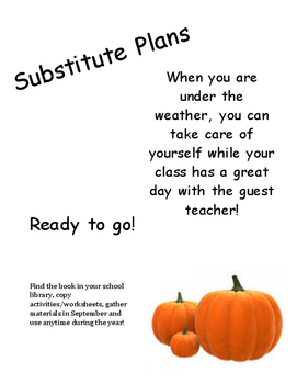 Fall Substitute Plans