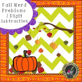 Fall Subtraction Word Problems