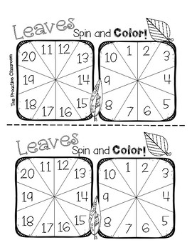 Fall Subtraction to 20 Spin and Color