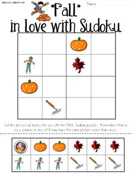 Fall Sudoku Puzzle Bundle