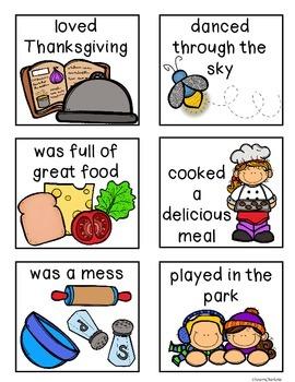 Fall Super Sentence Bundle