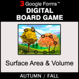 Fall: Surface Area and Volume - Digital Board Game | Google Forms