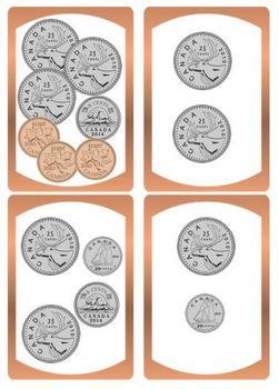 Fall Sweets Shop Adaptive Math Tasks (Canadian Coin Version)