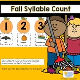 Fall Syllable Count