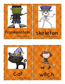 Fall Syllable Picture Sort