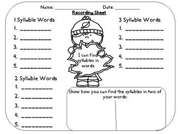 Fall Syllable Practice