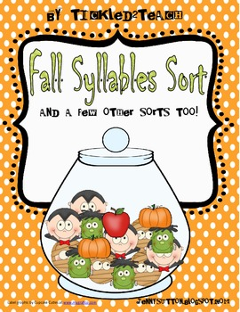 Fall Syllable Sort and a Few Other Sorts Too