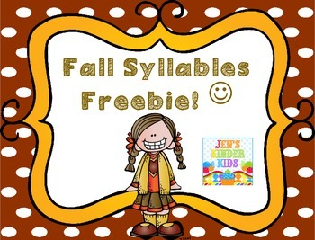 Fall Syllables {FREEBIE}