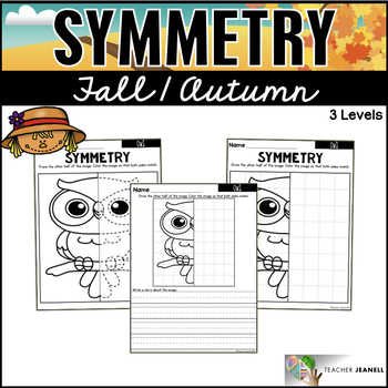 Fall Symmetry Worksheets