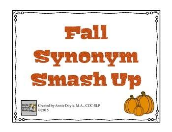 Fall Synonym Smash Up