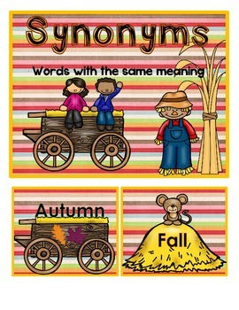 Fall Synonyms