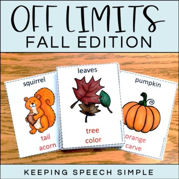 Off Limits - An Expressive Language Game Fall Edition