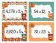 Fall Math Task Cards: Multidigit Multiplication