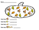 Fall Tasks for Special Education or Early Learners
