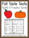 Fall Taste Tests