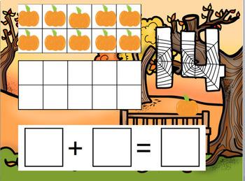 Fall Teen Numbers Google Classroom