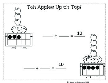 Ten Apples Up on Top Freebie
