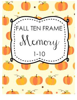 Fall Ten Frame