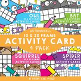 Fall / Autumn Ten and Twenty Frame Math Activities