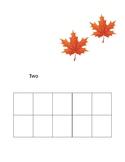 Fall Ten Frame Cards