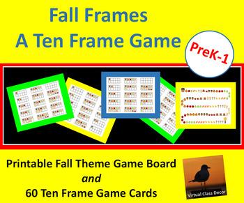 Fall Ten Frame Game