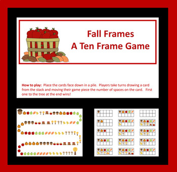 Fall Ten Frame Game