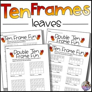 Fall Ten Frames *No Prep*