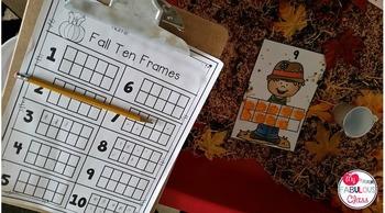 Fall Ten Frames