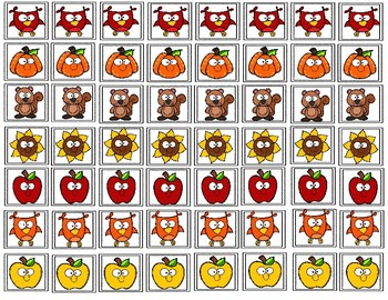 Fall Ten Frames Counting!