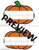 Fall Ten Frames- Pumpkin, Apple, etc