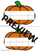 Fall Ten Frames- Pumpkin, Apple, etc