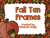 Fall Ten Frames (1-20)